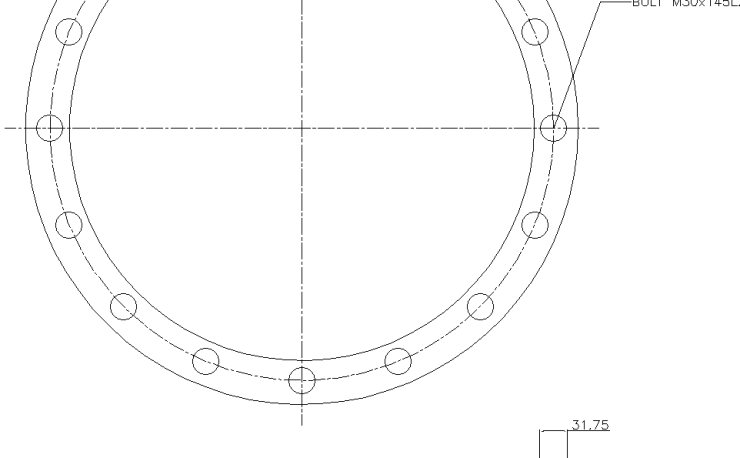 Blind Flange 18 Inch Class 150