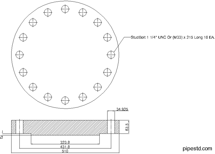Blind Flange 10 Inch Class 600