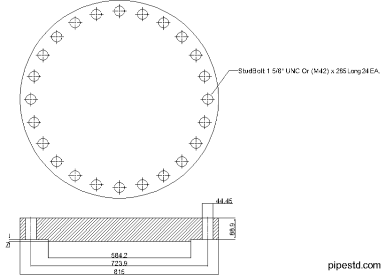 Blind Flange 20 Inch Class 600