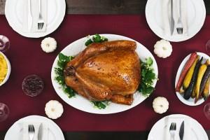 turkey for thanksgiving dinner