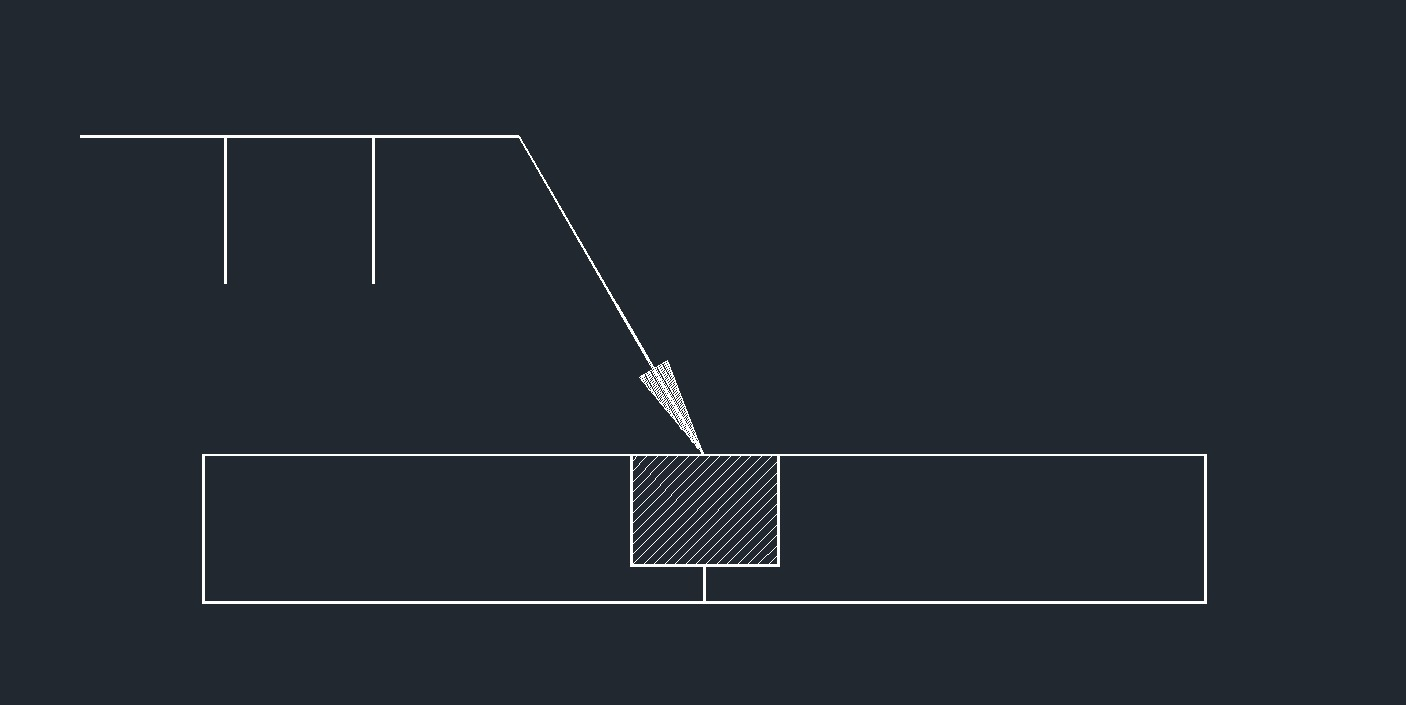 hight resolution of weld symbol