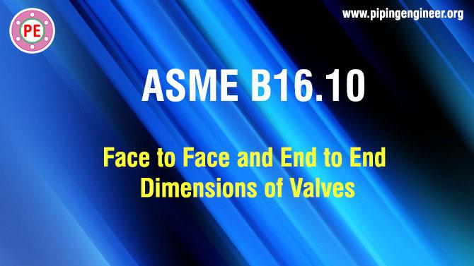ASME B16.10