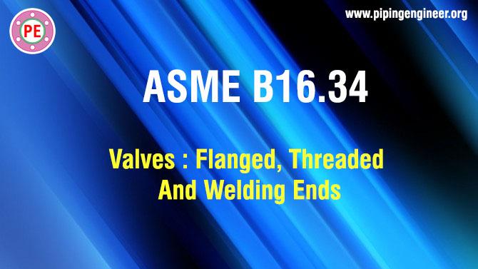 ASME B16.34