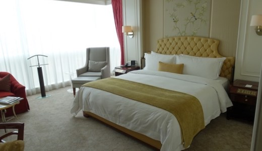 セントレジス ・シンガポール 宿泊記:SPGアメックスでのアップグレード結果とお部屋の様子をレポート!