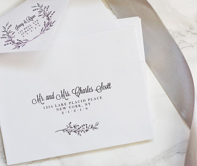 Why Hire A Professional Calligrapher When You Can Make Your Own Printable Envelope Template And Address