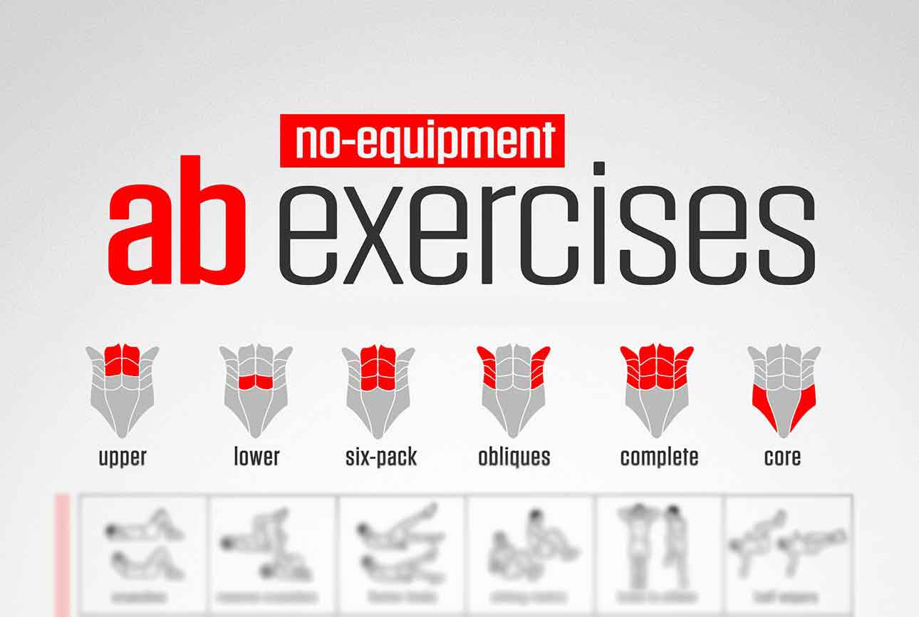 ab exercices with no equipment featured piplum