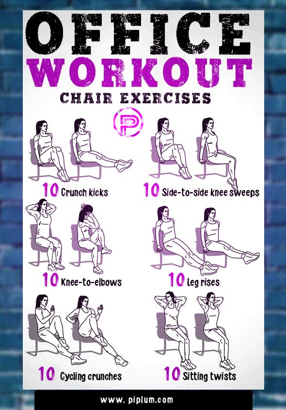 simple-fast-office-workout-chair-exercises-poster