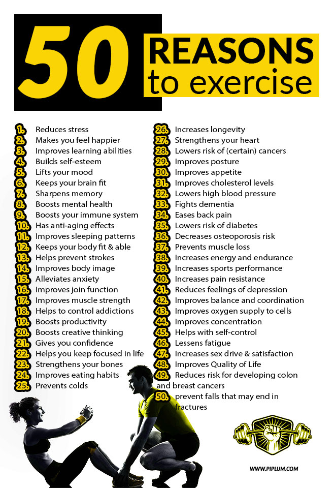 50-reasons-to-exercise-Motivational-poster-Man-and-women-exercising