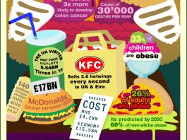 obesity in britain info graphic