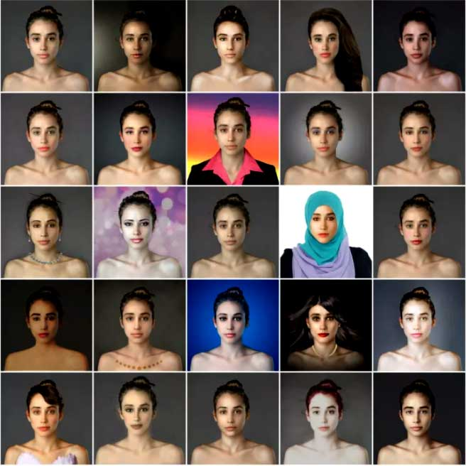 Selfie editing standarts world countries. Women selfies edited from different countries.