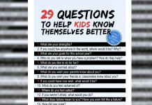 What to ask kids to know them better and them know themselves be