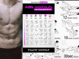abs workout to have the best six pack. Facebook post cover