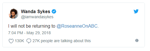 Roseanne Barr compares black Obama aide Valerie Jarrett to an ape – and later apologizes