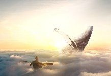 surreal-world.-Whale-in-the-sky.