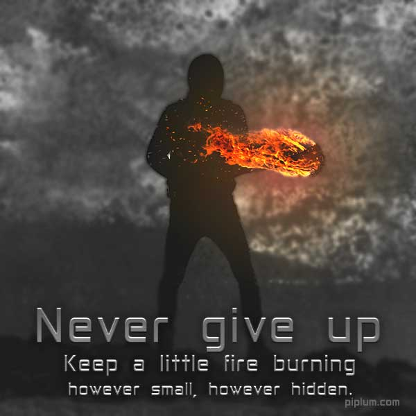 Keep-your-motivational-fire-burning-life-lesson-quote