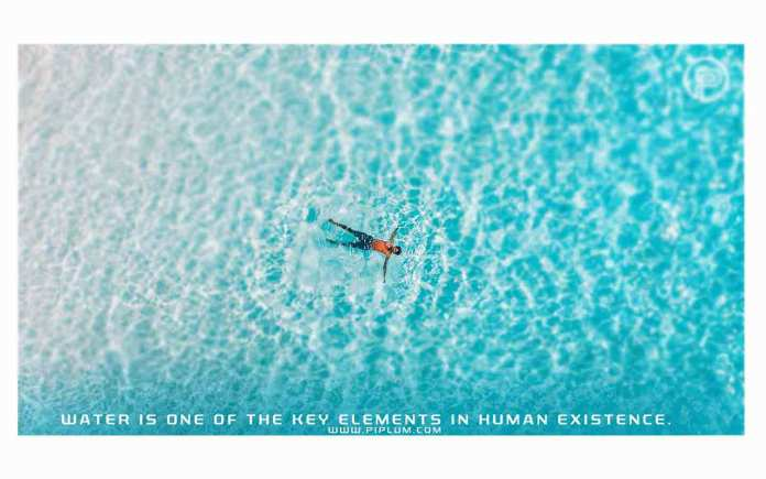 Water-is-a-critical-element-of-human-existence-Inspirational-quote-about-life