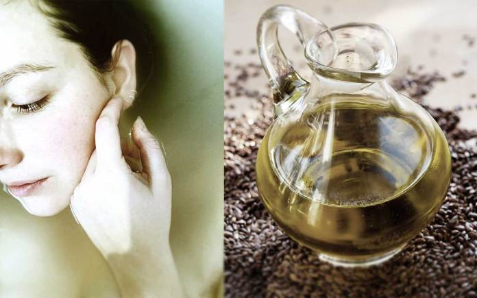 Flaxseed-oil-for-beauty-helps-fight-skin-dryness-rashes-scarring-after-burns-cracked-psoriasis-rosacea-eczema-damaged-skin