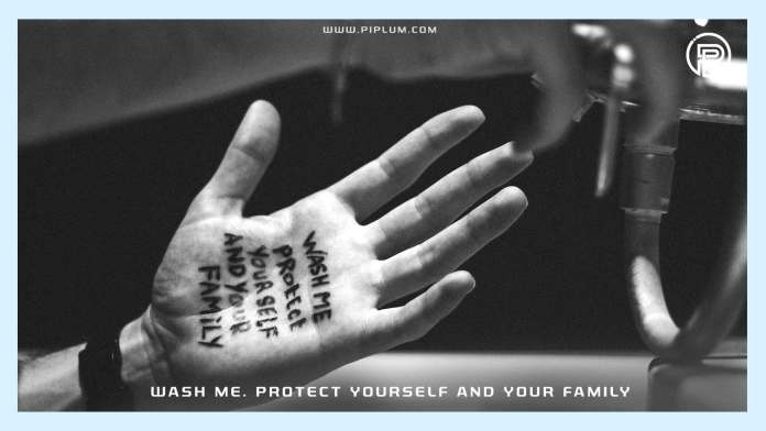 Wash-me-Protect-yourself-and-your-family-Educational-coronavirus-quote