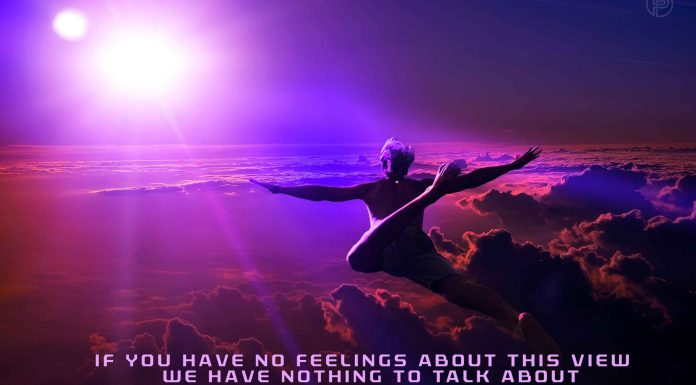 man-flying-in-the-purple-sky-life-quote