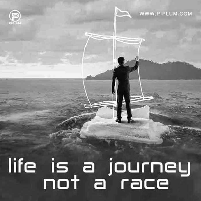 Luck-doesn't-come-instantly-it's-a part-of-a-long-journey-Motivational-quote-about-life