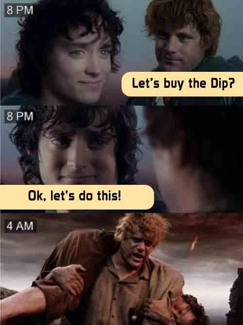 Extreme-crypto-volatility-can-take-you-straight-to-Mordor-Funny-Crypto-meme