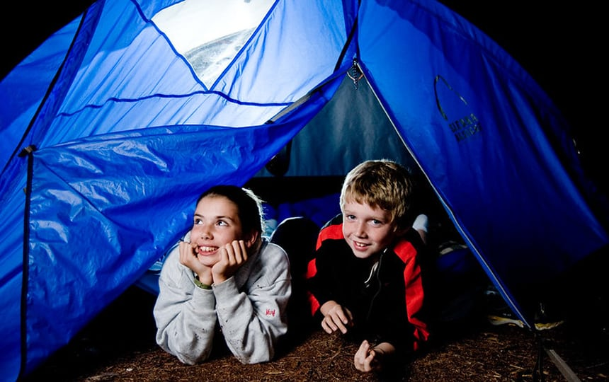 langeweile busters camping