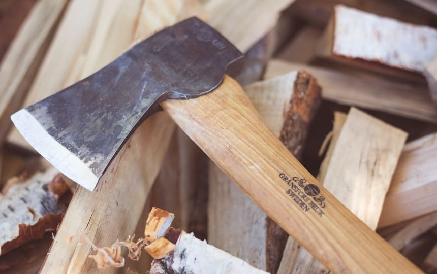 Urban Firewood Forager's Guide Axt