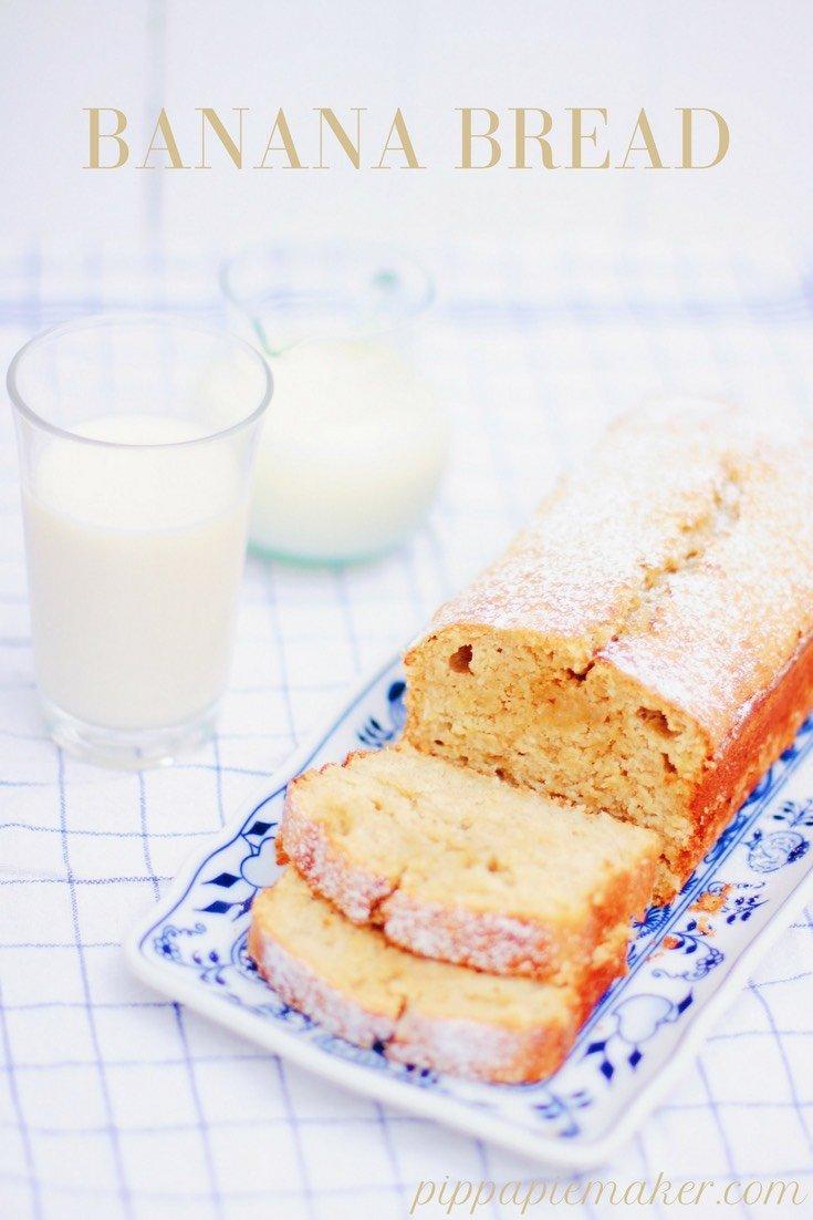 Dieses Banana Bread ist ein richtig leckerer, saftiger Kastenkuchen für Kinder und Erwachsene. Er passt zum Frühstück oder Brunch genauso wie zum Kindergeburtstag und ist super schnell gemacht.