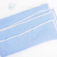 Babydecke stricken: Das einfachste Strickprojekt für Babys