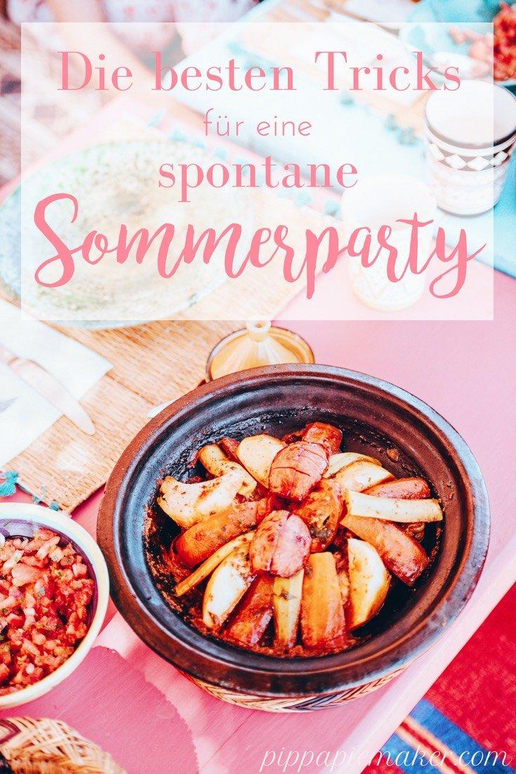 Mit diesen genial einfachen Tricks und Hacks sparst du jede Menge Zeit und Nerven bei deiner nächsten Sommerparty, BBQ oder Gartenfest. So kann auch mal spontan gefeiert werden, wenn das Wetter gerade stimmt!