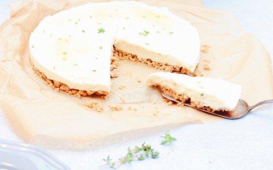 Ein wunderbarer Käsekuchen ohne Backen
