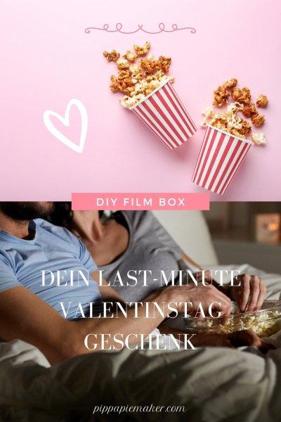 Brauchst du noch ein Last-Minute Valentinstaggeschenk? Oder suchst einfach nach einer Möglichkeit für ein bisschen Quality Time als Paar im Lockdown? Dann ist diese DIY Film Box genau das Richtige für dich!