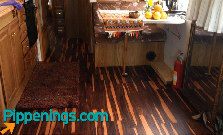 RV Renovations Best Flooring Options  Pippeningscom