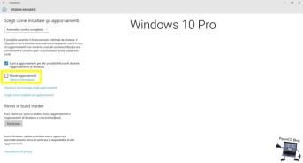 windows 10 pro aggiornamenti