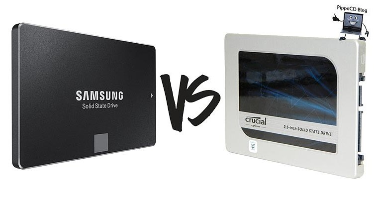 Samsung 850 Evo vs Crucial MX200