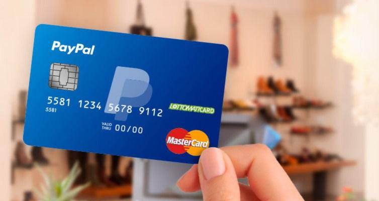 Carta prepagata Paypal