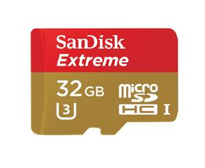microSDHC SanDisk Extreme