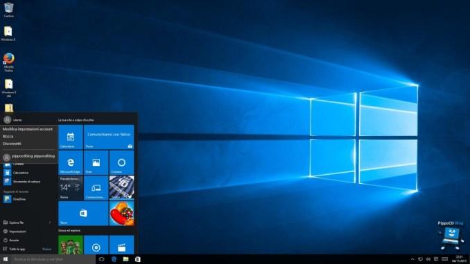 cambia utente Windows 10