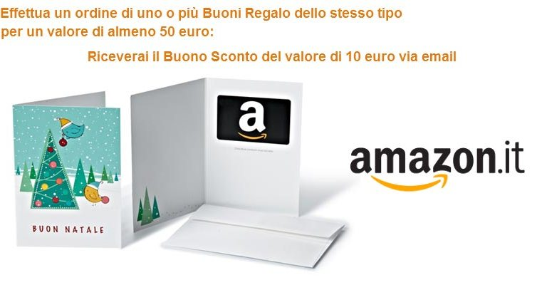 Buono Regalo Amazon Natale
