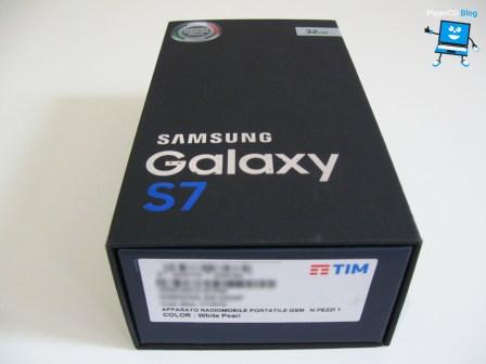 Samsung Galaxy S7 scatola
