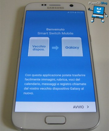 Galaxy S7 Smart Switch