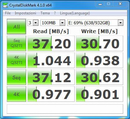 orico6518us3 test USB2 seagate hdd