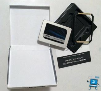SSD Crucial MX300 dotazione