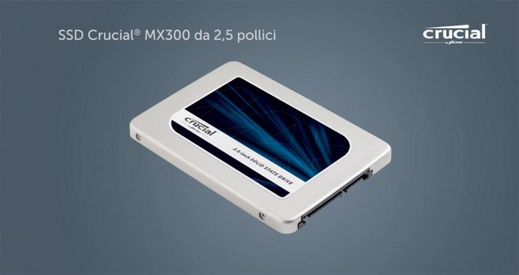 SSD Crucial MX300 | Recensione