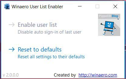 winaero user list enabler