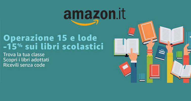 Offerta Libri scuola Amazon