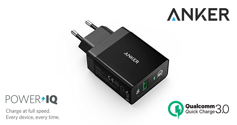 Anker Quick Charge 3.0 caricatore USB | Recensione