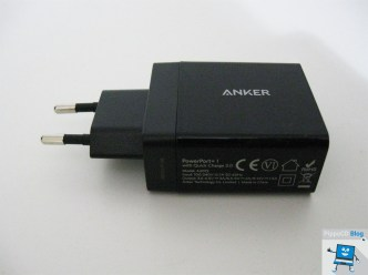 Caricatore USB Anker PowerPort+1 con Quick Charge 3.0