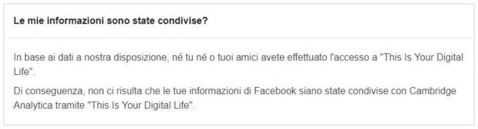 Facebook cambridge analitica