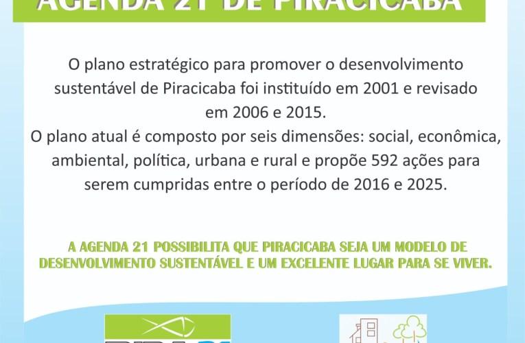 Conheça a Agenda 21 de Piracicaba